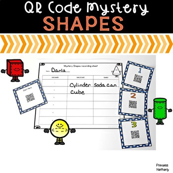 QR Code Mystery Shapes