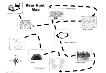 We're Going on a Bear Hunt After Reading Activity