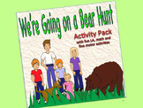 We're Going on a Bear Hunt  Activity Pack:  sequence, flan