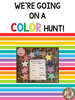 We're Going on a Color Hunt!