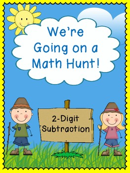 We're Going on a Math Hunt - 2-Digit Subtraction