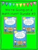 We're Going on a Math Hunt Bundle #3 - Shapes, Fact Families, Mental Math