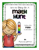We're Going on a Math Hunt FREEBIE