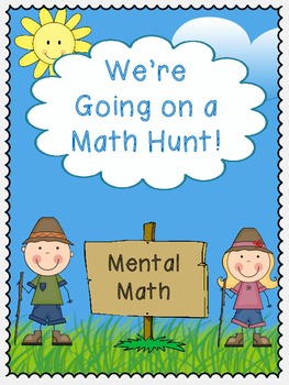 We're Going on a Math Hunt - Mental Math
