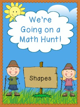 We're Going on a Math Hunt - Shapes