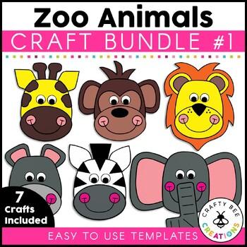 Zoo Crafts Bundle