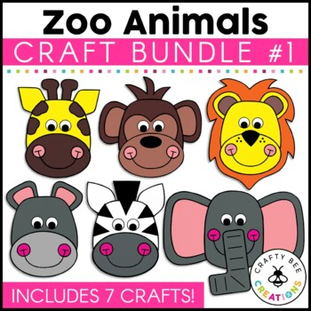 Zoo Cut and Paste Set