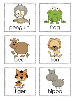 We're Going to the Zoo, Zoo, Zoo! Math and ELA Activities