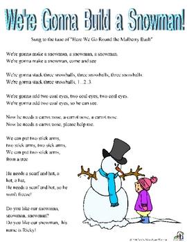We're Gonna Build a Snowman