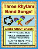 """""""Rhythm Band!"""" - THREE Active Rhythm Instrument Games"""