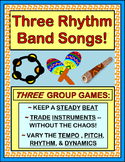 """Rhythm Band!"" - THREE Active Rhythm Instrument Games"