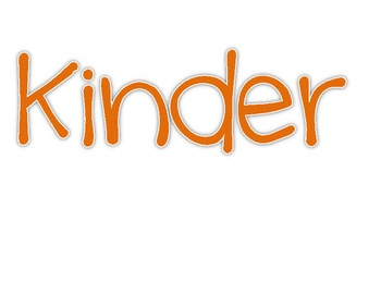 We're NUTS about Kindergarten