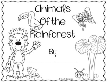 RAINFORESTS - WE'RE ROAMING THE RAINFOREST Book Study, Research with QR Codes