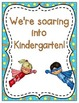 We're Soaring into School! Grade Level Signs and Student N