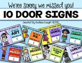We're Sorry We Missed You: 10 Door Signs for When You're Out & About