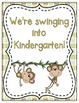 We're Swinging into School! Grade Level Signs and Student