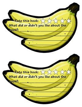 We're bananas for books!  Book Reviews!