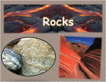 We're gonna' rock to the 3 kinds of rocks!