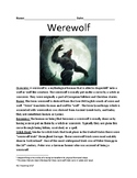 Werewolf - history facts information lesson movies overview Werewolves