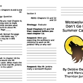 Werewolves Don't Go to Summer Camp Comprehension Trifold