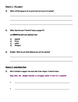 Werewolves Don't Go to Summer Camp - Guided Reading Packet