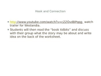 Weslandia Close Read Powerpoint