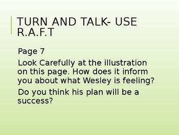 Weslandia Lit Camp PowerPoint Lesson-grade 5