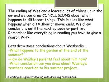 Weslandia Teaching Unit 2 Weeks