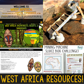West Africa Activities Resource Bundle