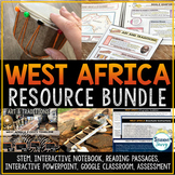West Africa Activities Resource Bundle   Distance Learning
