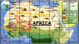 West Africa Empires Puzzle Poster to Print