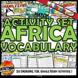Medieval Africa Interactive Vocabulary Activity Set Google Ready