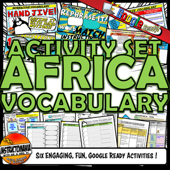 West Africa Empires Vocabulary Set