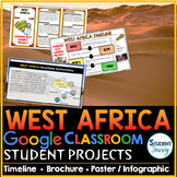 West Africa Google Classroom Projects