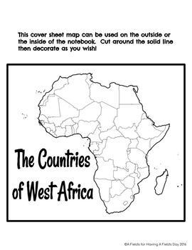 West Africa Interactive Notebook