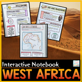 West Africa Interactive Notebook Empires and Kingdoms Africa Distance Learning
