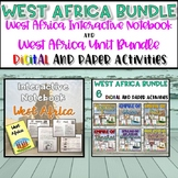 West Africa Interactive Notebook and Resource Bundle {Digital AND Paper}