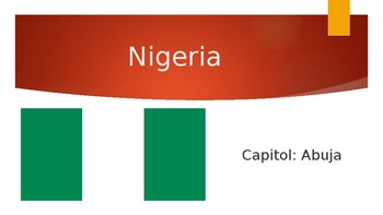 West Africa PowerPoint