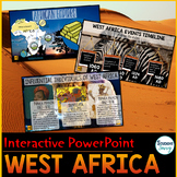 West Africa PowerPoint   Google Slides   Google Classroom Distance Learning