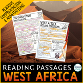 West Africa Reading Passages - Questions - Annotations