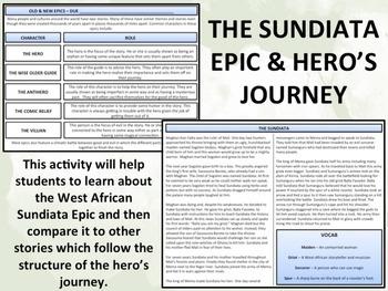 West Africa - Sundiata Epic & The Hero's Journey