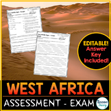 West Africa Test - Exam