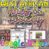 West African Art & Society Activity {Google Drive}