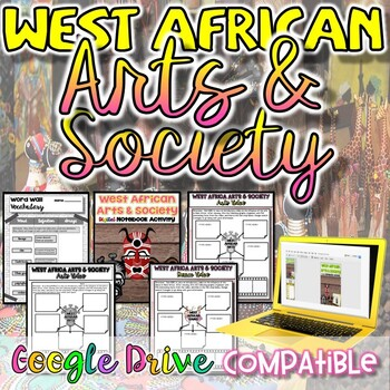 West African Arts & Society Activity