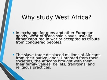 West African Culture Presentation