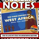 West African Empires Ghana, Mali, Songhai Powerpoint
