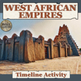 West African Empires (Ghana and Mali) Timeline Activity