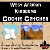 West African Kingdoms Cootie Catcher