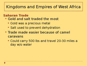 Day 032_West African Kingdoms - Ghana, Mali, Songhai - PowerPoint