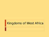 Day 032_West African Kingdoms - Ghana, Mali, Songhai - PowerPoint